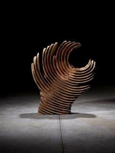 São Mamede - Art Gallery  Paulo Neves Sem Título - 151)11 2015 Madeira 50 cm x 55 cm x 13 cm