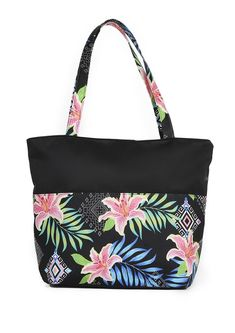 Beach bag that will help to avoid leakage with colourful print detail. Diaper Bag, Beach, Color, The Beach, Diaper Bags, Colour, Mothers Bag, Beaches, Colors