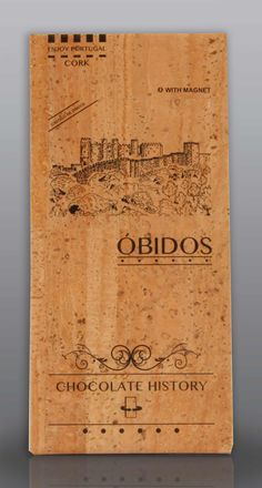 Óbidos | Castelo de Óbidos  | Chocolate Negro 48% Cacau 125 g