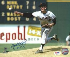 Gaylord Perry Autographed HOF 91 8x10 Photo SF Giants PSA/DNA . $29.00. This is an 8x10 photo that has been hand signed by Gaylord Perry. Gaylord signed this one, HOF 91. The autograph has been certified authentic by PSA/DNA and comes with their sticker and matching certificate.