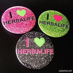 Custom Herbalife Buttons by Celebuttons.com