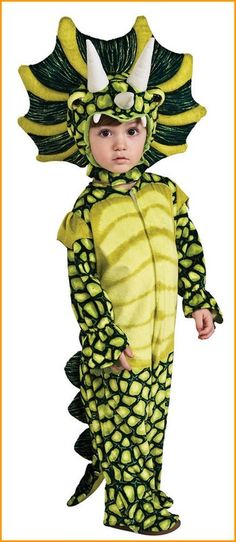 triceratops dinosaur costume for toddlers costume includes the triceratops headpiece and the dinosaur costume