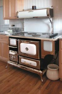 Vintage Style Wood Stove Except The New Version Is Electric Or Gas