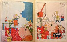 Béatrice Mallet - Illustration - Livre - Les Voyages de Gulliver - 1939