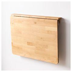 NORBO duvara monte masa, huş, 79x59 cm | IKEA Türkiye
