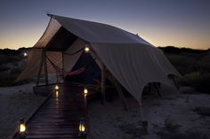 camping at sal salis ningaloo reef resort