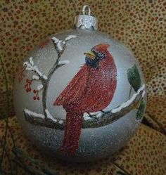 Down Home Betty Bowers - Country Painting Books and Packets Painted Christmas Ornaments, Hand Painted Ornaments, Christmas Decorations, Christmas Light Bulbs, Christmas Balls, Snow Balls, Goose Creek, Owl Ornament, Painted Gourds