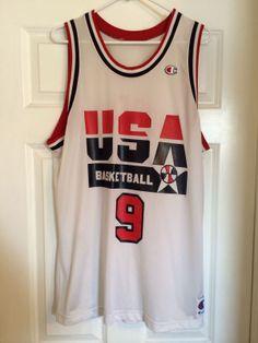 Michael Jordan USA Dream Team Olympics Basketball Jersey 00c2a90f4