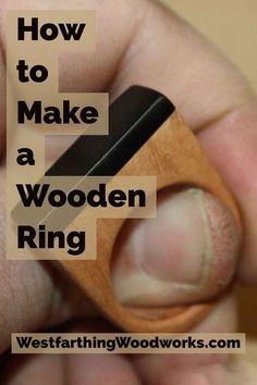 How to make wooden rings, and how to use what you already have in the shop to make them even better. This is a great set of ideas for anyone who makes wood rings, or is thinking about a great beginner woodworking project. Wood rings are fun, easy to work, and a handmade ring makes a great gift. Enjoy, and happy building.