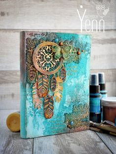 Zealous Scrapbooking Kits American Crafts scrapbookingalbum ScrapbookingKitsBanners is part of Mixed media art journaling - Art Du Collage, Mixed Media Collage, Mixed Media Canvas, American Crafts, Altered Canvas, Altered Art, Decoupage Canvas, Canvas Paper, Art Altéré