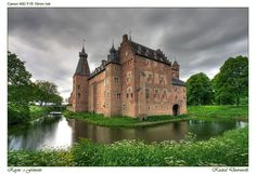 Castle Doorwerth (Gelderland the Netherlands) from the 13th century (1280) in 1260 the castle was from wood.