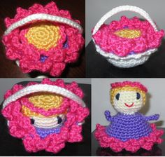 Magical Flower Child- aunt Fay made something like this, only smaller, when we were kids. they were little kids in purses that made into a crib.
