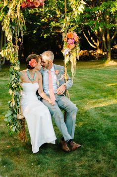 Wood Swing, Modern Flower Arrangements, Send Flowers, Flower Garlands, Exeter, Bridesmaid Dresses, Wedding Dresses, Perfect Photo, Big Day