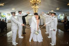Photo Credit: Chris Carter Photography #Bride #Groom #MilitaryWedding
