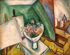 Raoul Dufy, Le bouquet dans l'atelier