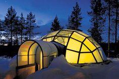 Villa-hotel de iglúes en Finlandia   http://caracteres.mx/villa-hotel-de-iglues-en-finlandia/?Pinterest Caracteres+Mx