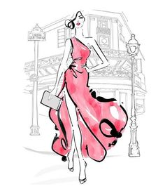 .fashion skecht illustration