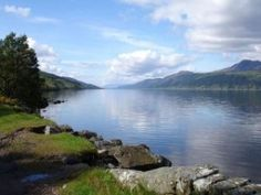 Loch Ness on a lovely spring day