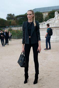 Street style semana de moda en Paris primavera verano 2014 Moda en la calle