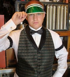 how do casino dealers dress in the 1920's - Google Search