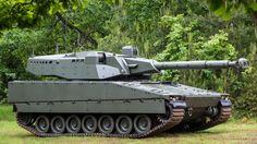 CV90105, tank, Swedish army