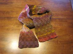 Amazing Basketweave Scarf pattern by Anna Murphy