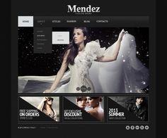 Website Theme , Apparel