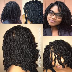 Nafy collection bomb twists protective stylin for Bomb hair salon