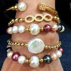 Vila Veloni Jewelry Store - Set By Vila Veloni Elegant Mallorca Pearls Bracelets , $192.00 (http://www.vilaveloni.com/set/set-by-vila-veloni-elegant-mallorca-pearls-bracelets/)