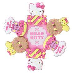 SANRIO Hello Kitty Rubber Clip 6 pieces SET FREE S/H CUTE