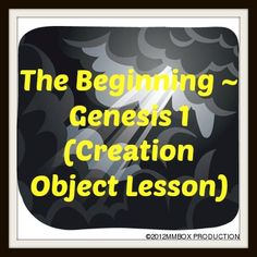 Cain and abel and Object lessons on Pinterest