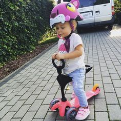 We're not all about bikes. If you have some other cool means of transport, share it with us! #crazysafety #helmet #crazy #safety #denmark #buy #online #protection #ride #kids #children #parents #parenting #ceshire #cute #3d