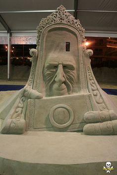 JPB: Sand Sculpture collection   Dan & Meridith -back   Flickr - Photo Sharing!