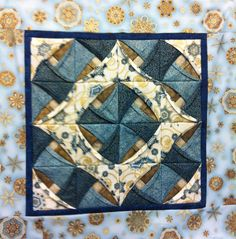 Chinese Puzzle wall hanging kit from Quiltessential Co