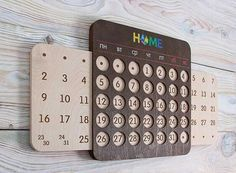 Clever Designs for Perpetual Calendars - Core77