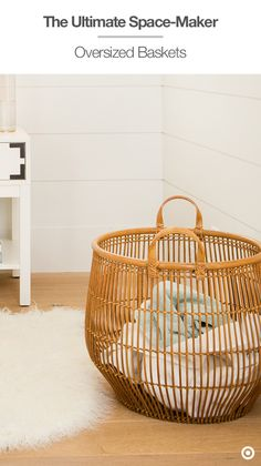 Want To Give Your Room An Instant Style Upgrade? Swap The Hamper For A  Pretty