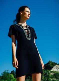 Nicoletta Dress in Black (Preloved)