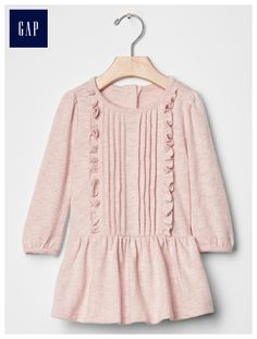 Currently available (on sale) at gap.com - infant/toddler Slub pintuck  dress
