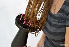 3 Ways to Use a Hair Diffuser - wikiHow