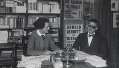 """""""I am a citizen of the world.""""  Sylvia Beach was the proprietor of Shakespeare And Company Bookstore in Paris."""