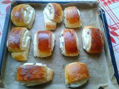 Tvarohové mini záviny (fotorecept) - obrázok 5 Pretzel Bites, Bread, Projects, Recipes, Food, Savory Snacks, Hampers, Bakken, Log Projects