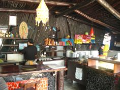Mateos kitchen in Tulum, Mexico.