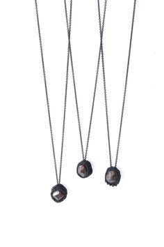 Garnet necklaces - Jacki Holland
