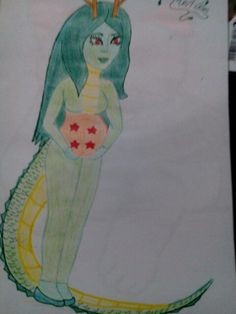 Diseño disfraz para embarazda dragón Shenron( dragon ball)