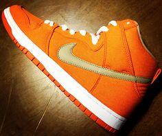 "Preview: Nike SB Dunk High Pro ""Orange Canvas"""