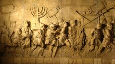 Arch of Titus Menorah Relief - Biblical Archaeology in Rome (Bible History Online) Jewish History, Roman History, Art History, History Online, History Meaning, Israel History, Church History, Menorah, Jewish Temple