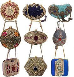 Meera Mahadevia Wedding Clutch Collection