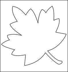 printable stencils Not sure if you have or have not heard or seen leaf templates. Well, in simpler terms, these are leafy designs which have become templates now because there's a… Leaves Template Free Printable, Maple Leaf Template, Leaf Printables, Butterfly Template, Flower Template, Crown Template, Applique Templates, Templates Free, Shape Templates