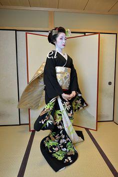 Maiko Fumino 妓章乃 舞黒髪-2 : ちょっとそこまで
