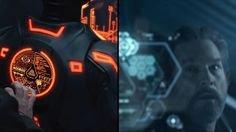 "TRON: Legacy - ""Flynn Code Hacks"" Process Trontage  from MN8 / Jake Sargeant - When you've authored the vast TRON universe, it only takes a couple deft code maneuvers for the likes of Kevin Flynn to avoid certain disaster."